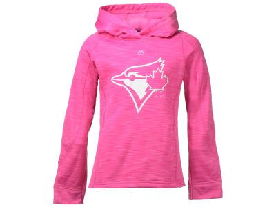 100% authentic f9ac5 f6720 Toronto Blue Jays Majestic MLB Youth Girls Logo Streak ...