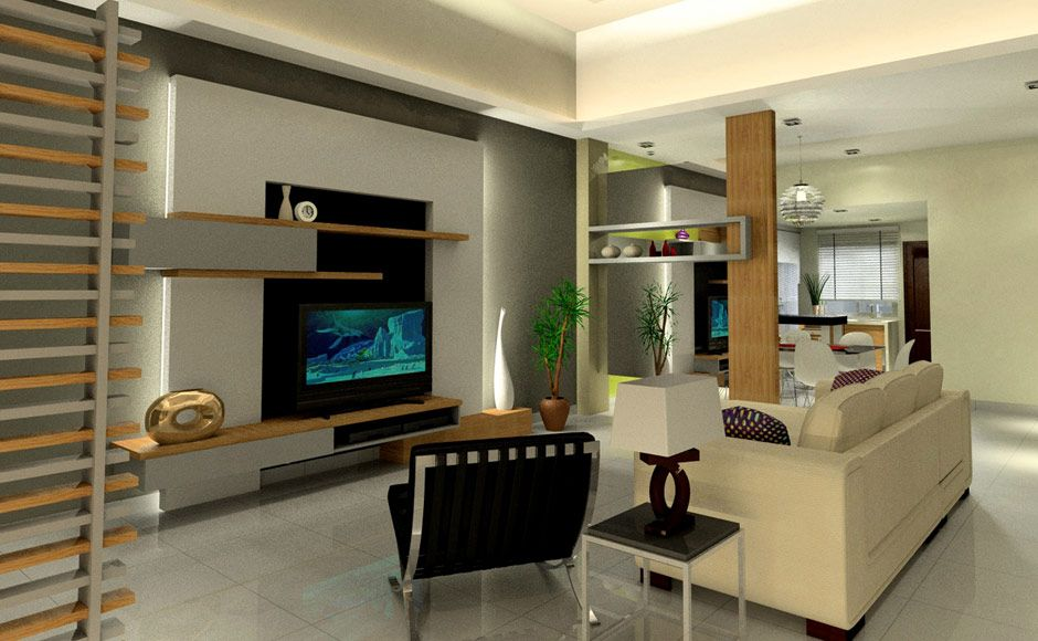 Living Room Design Ideas In Malaysia malaysia interior design - terrace house interior design | living
