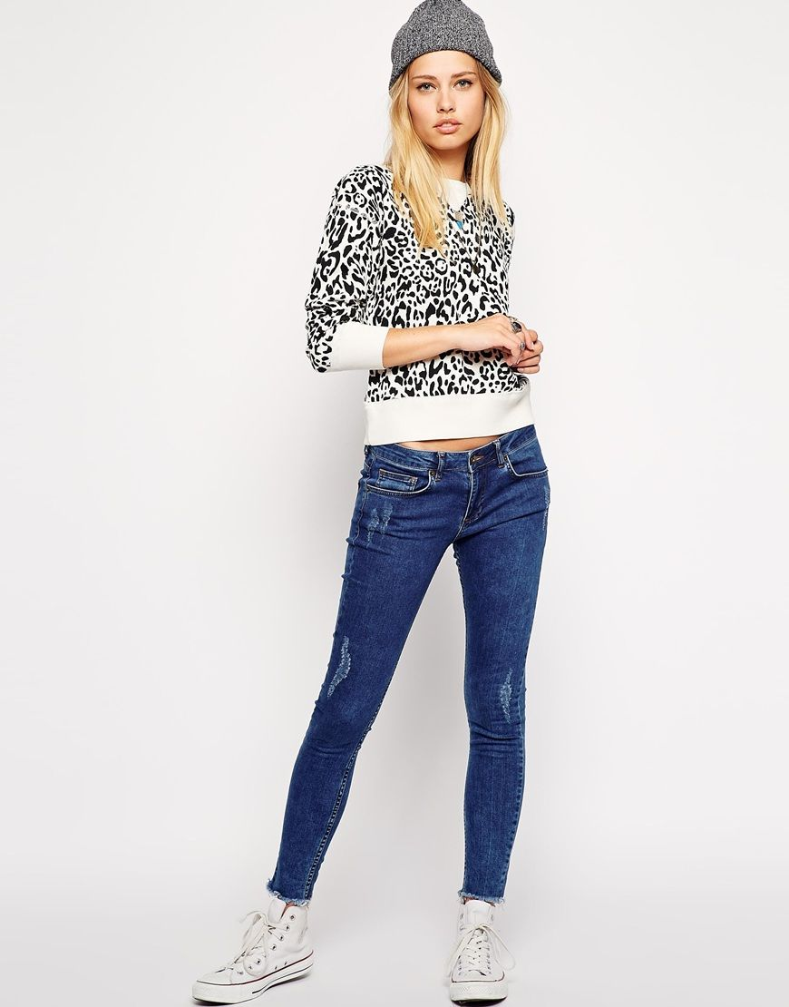 Denim & Supply by Ralph Lauren | Denim & Supply By Ralph Lauren Leopard Sweatshirt at ASOS