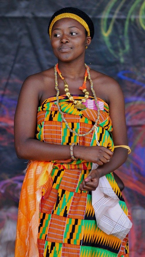 Ashanti People, Kente Cloth, Traditional Outfits