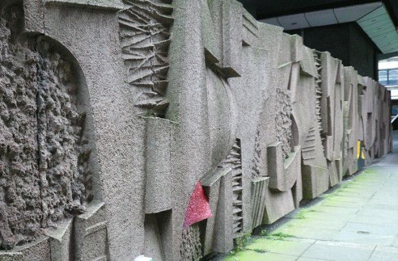 Keith Mccarter Abstract Wall Relief Concrete 1972 Glasgow Charing Cross Railway Station Currently Unlist 60s Wall Art Concrete Sculpture Concrete