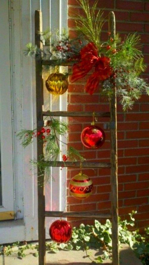Fenster Deko Weihnachten #kronleuchterselbstbauen