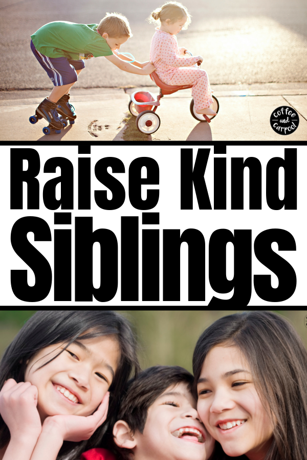 How To Get Siblings To Be Kind To Each Other