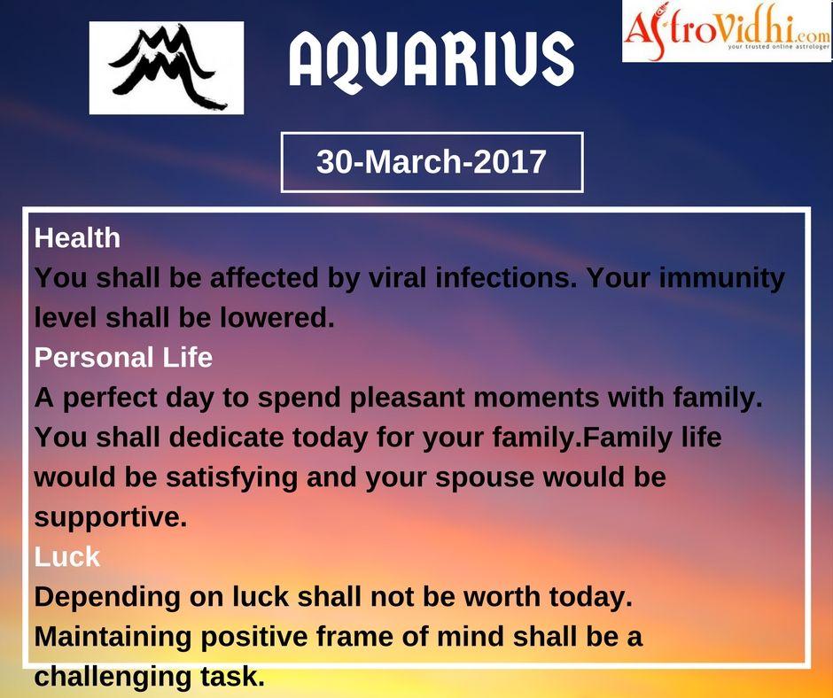 Aquarius Horoscope 2020 for Finance