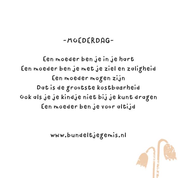 Gedichtje Over Moederdag Voor Alle Moeders Die Een Kindje Moeten