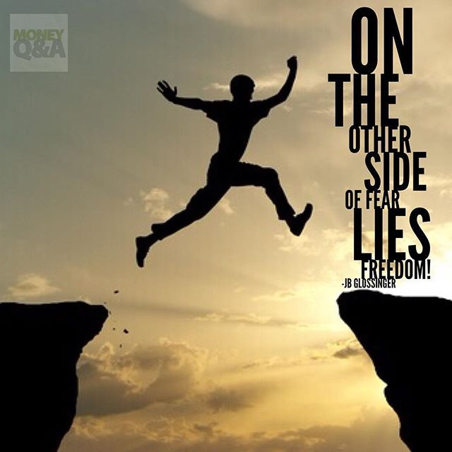 Inspirational Quotes On Pinterest: On The Other Side Of Fear Lies Freedom!