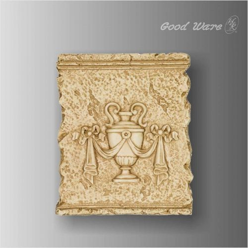Polyurethane bathroom decorative wall panels | Relief Wall Panels by ...