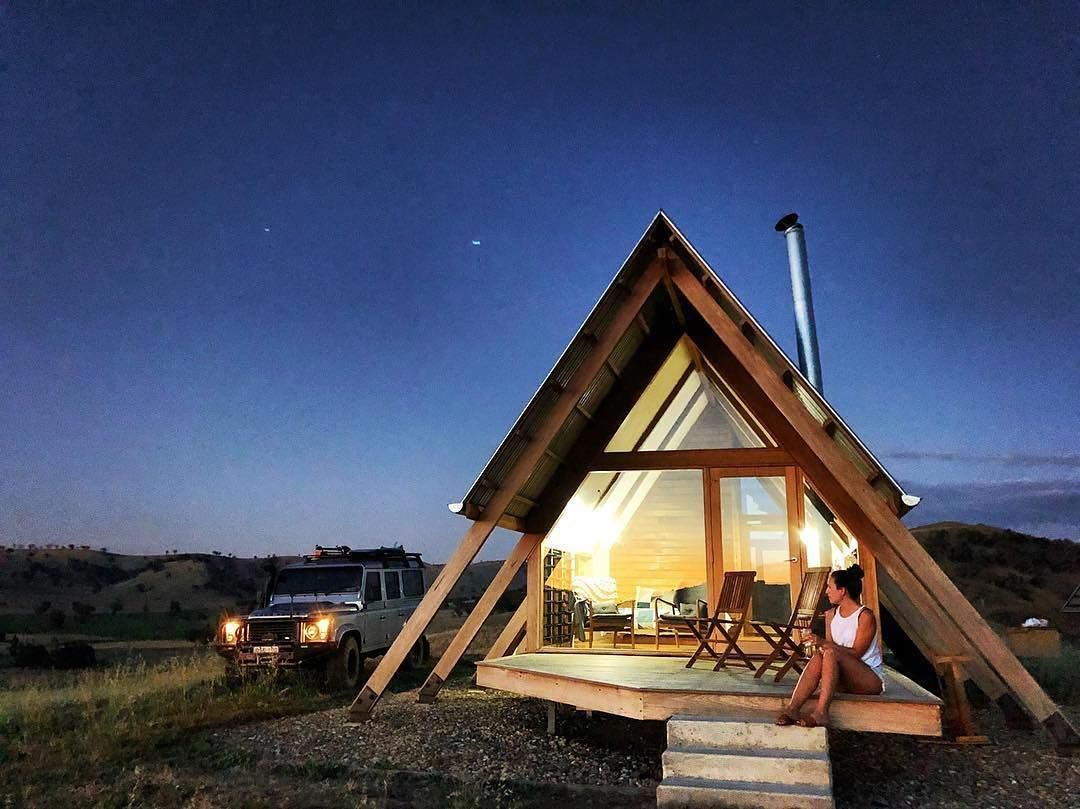 Tiny Aframe In The Aussie Countryside Tiny House