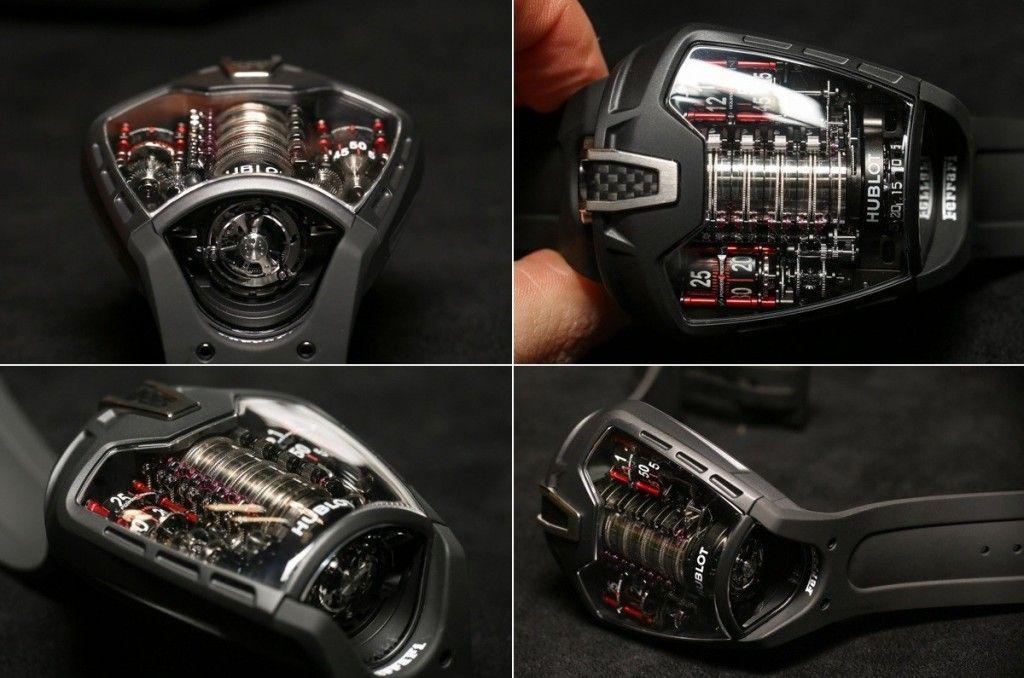 The Hublot Mp 05 Laferrari Superwatch Hublot Cool Watches Hublot Watches