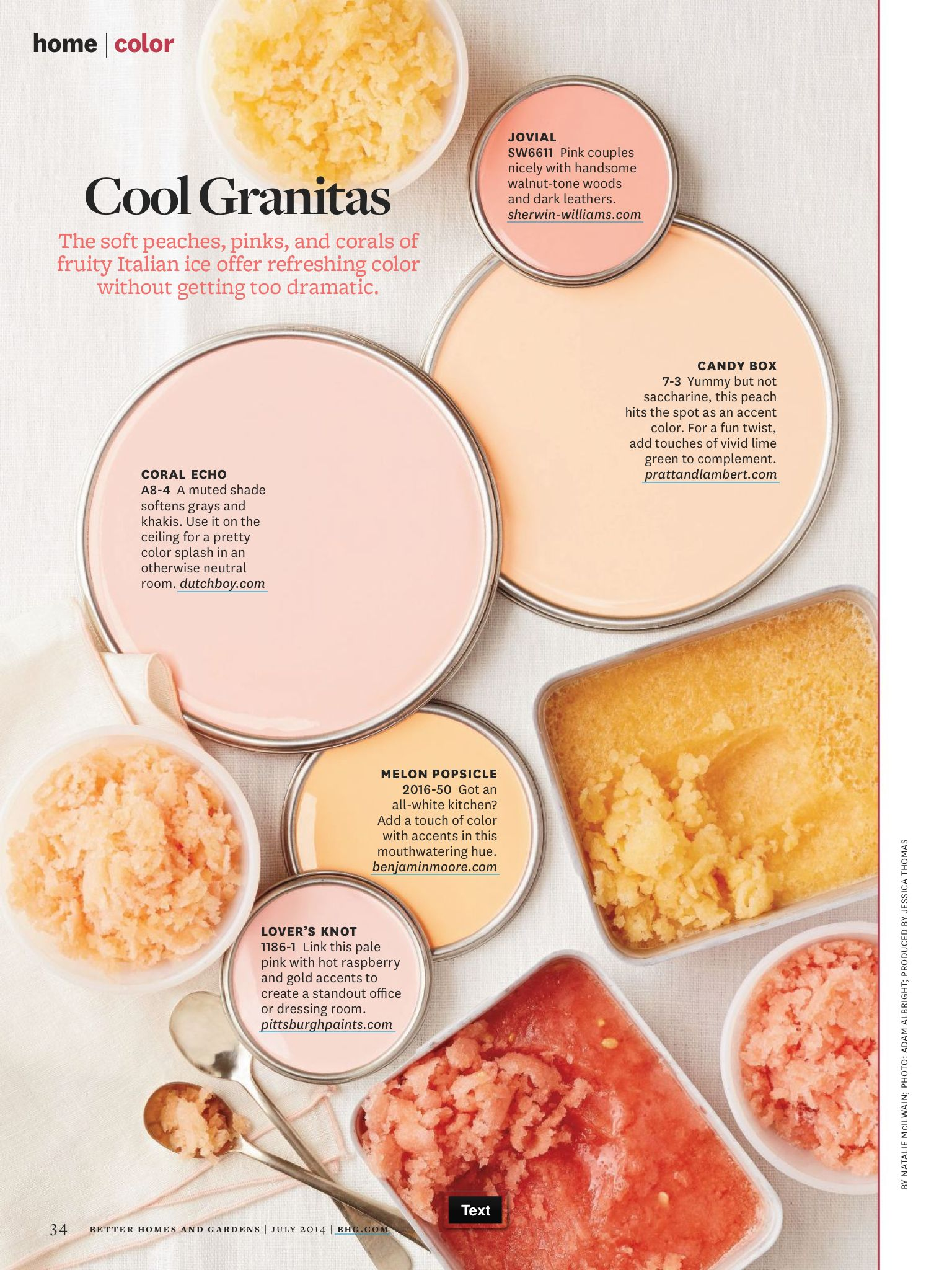 Better Homes and Gardens Cool Granitas