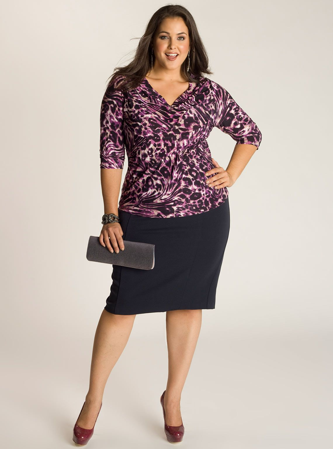 plus size skirts | monroe plus size skirt in navy blue | stylish