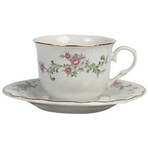 $19.99 Lynns Clarabelle Cup and Saucer, Set of 6