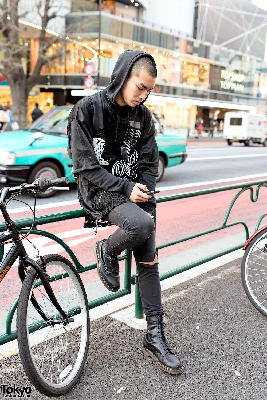 Ryu, works at Candy in Shibuya | 13 March 2014 | #Fashion #Harajuku (原宿) #Shibuya (渋谷) #Tokyo (東京) #Japan (日本)
