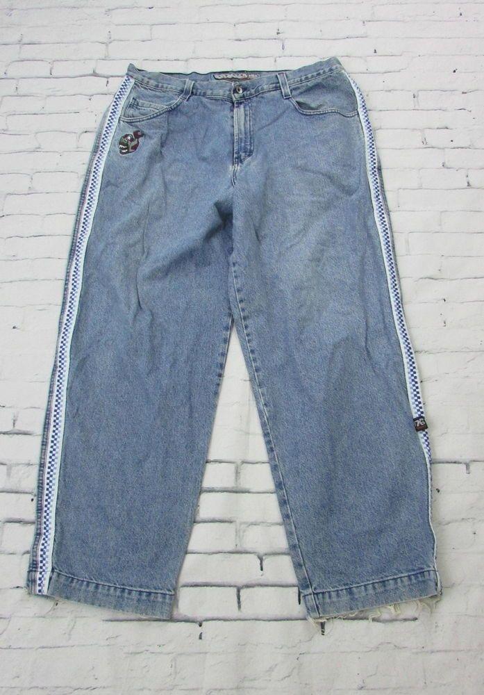 0e3990e5d6 Men's Vintage JNCO Piranha Skater Jeans Made in USA 42x32 #JNCO #Skater