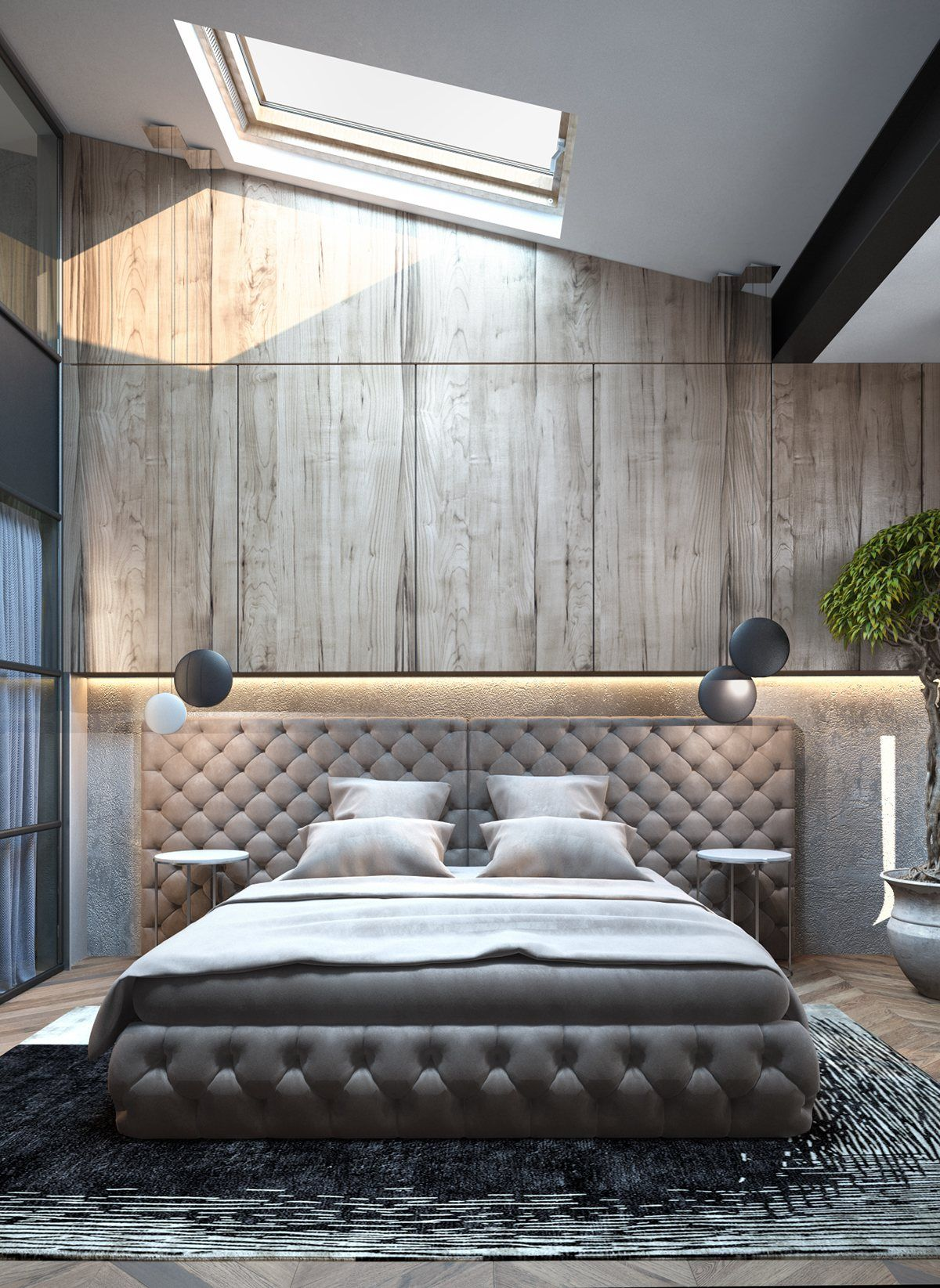 Lovely Homes With Inspiring Wall Treatments And Designer Lighting