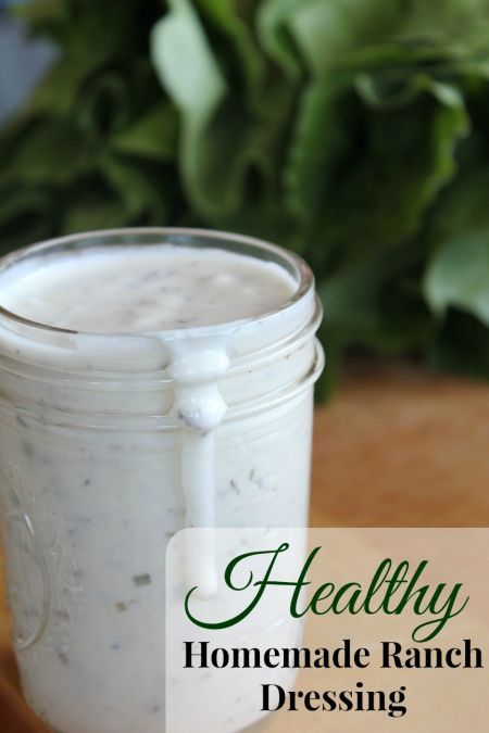 Homemade And Healthy Buttermilk Ranch Dressing Frugal Farm Wife Recipes Real Food Recipes Buttermilk Ranch Dressing