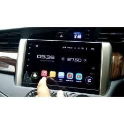Toyota Innova Crysta Android Hd Touch Screen Stereo With Dvd With System And Gps By Hypersonic In 2020 Toyota Innova Car Body Cover Car Mirror Cover