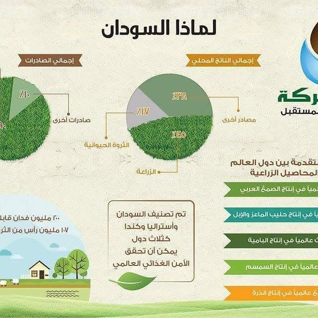 Baraka Farmsلماذا السودان ولماذا الاستثمار في السودان يعتبر السودان من أكبر الدول العربية والأفريقية مساحة وهو بلد غني بموارده الطبيع Pie Chart Chart Diagram