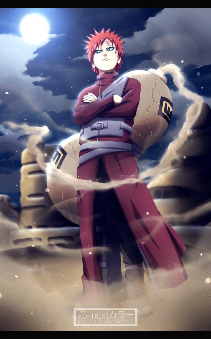 Photo of Naruto chapter 248 – Sabaku no Gaara by Kortrex on DeviantArt