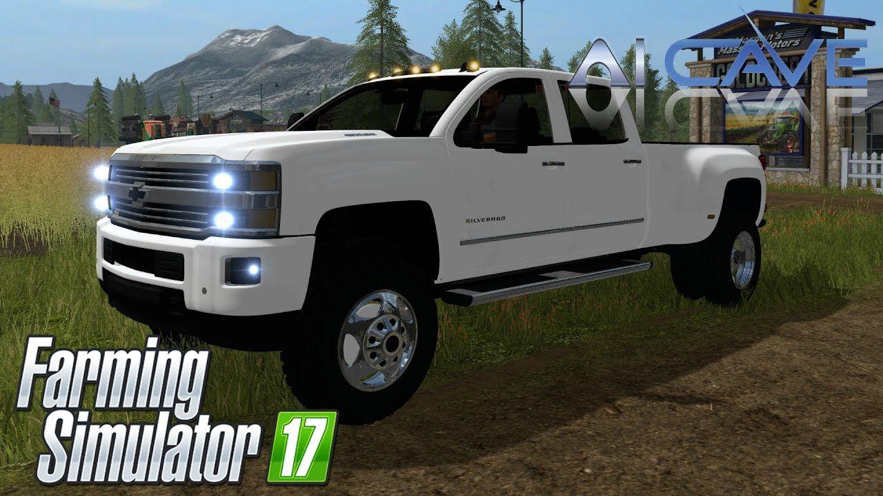 Farming Simulator 2017 Mods Review - Chevy Silverado ...