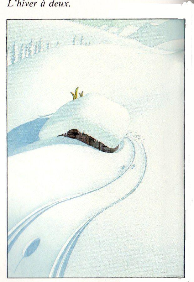INSPIRATIONS | Le nid de zazaboo | Dessin ski, Dessin montagne, Ski vintage