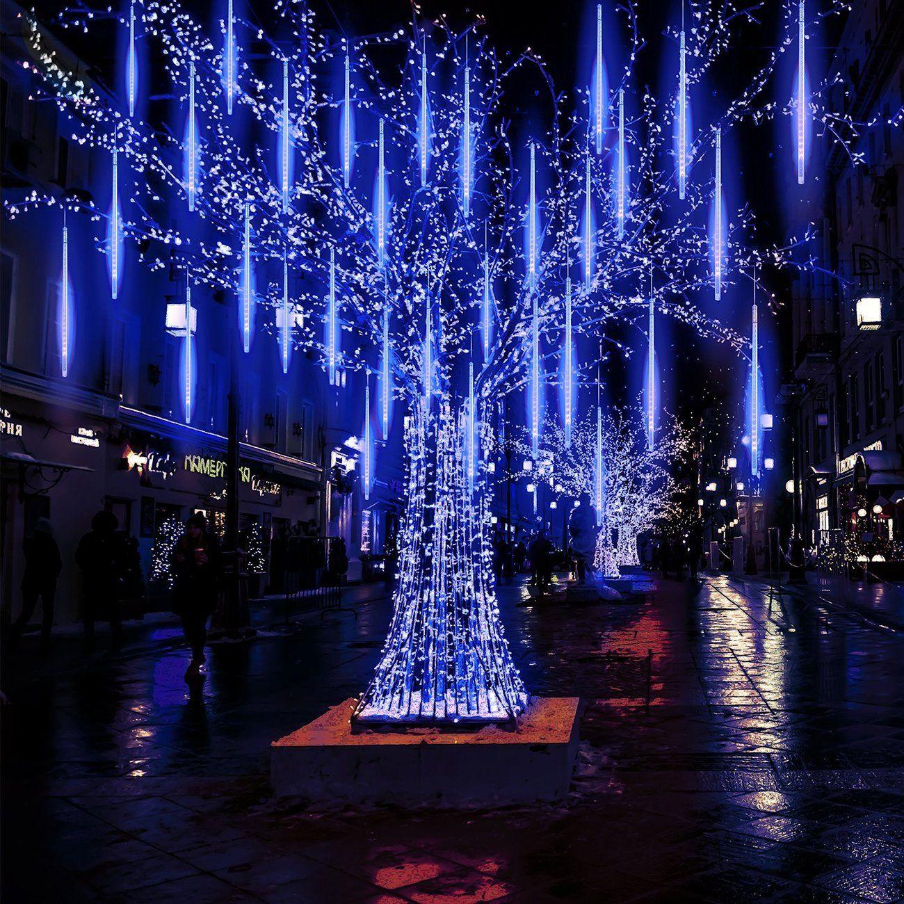 Home in 2020 Rain lights, Outdoor christmas lights
