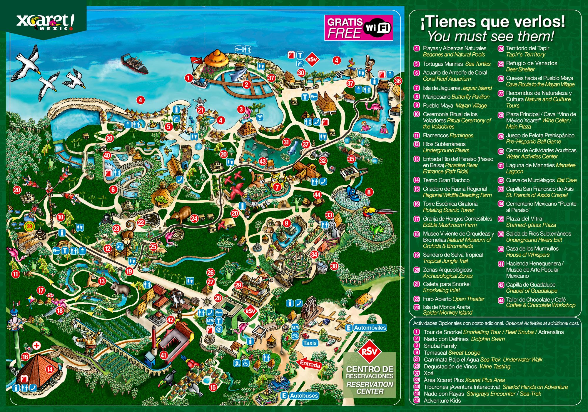 Mexiko Karte Cancun.Xcaret Review Itineraries For The Eco Theme Park Near Playa Del