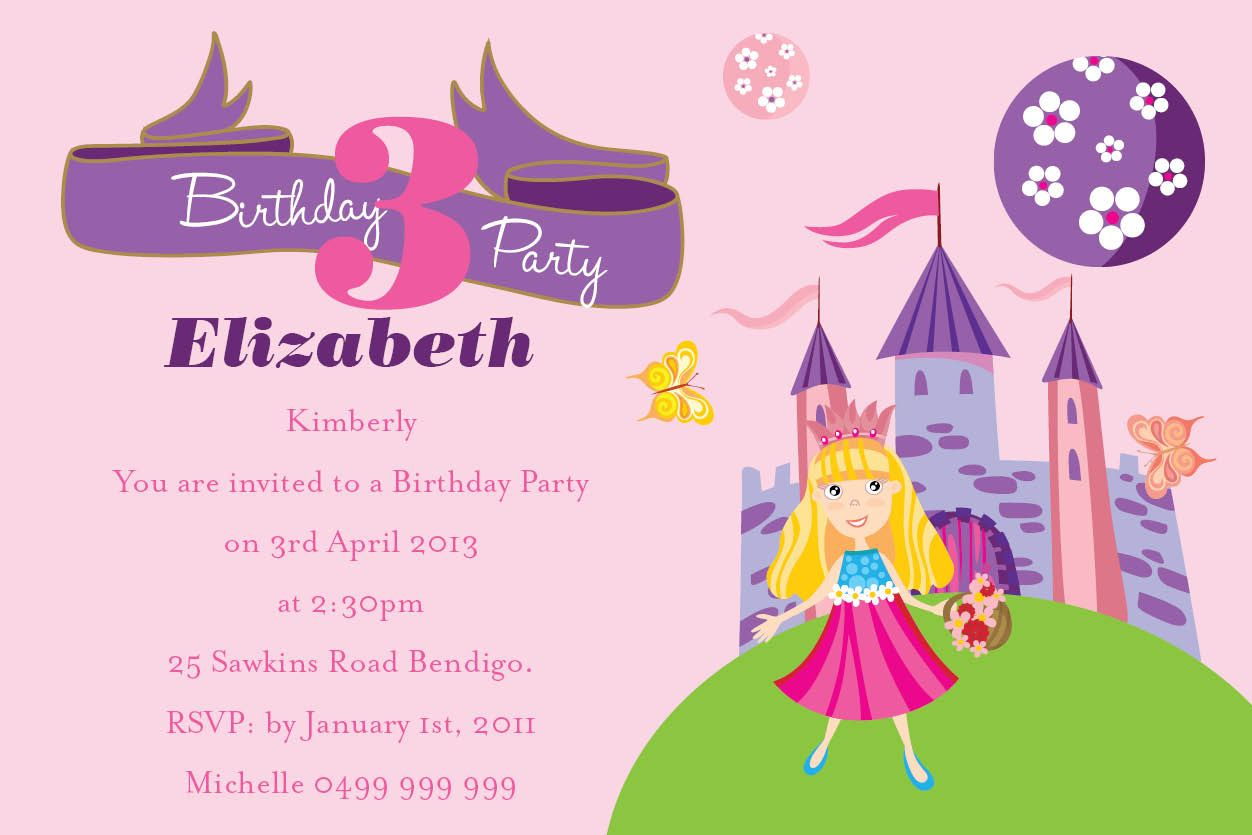 Download Birthday Invitation Wording For Kids Download this ...