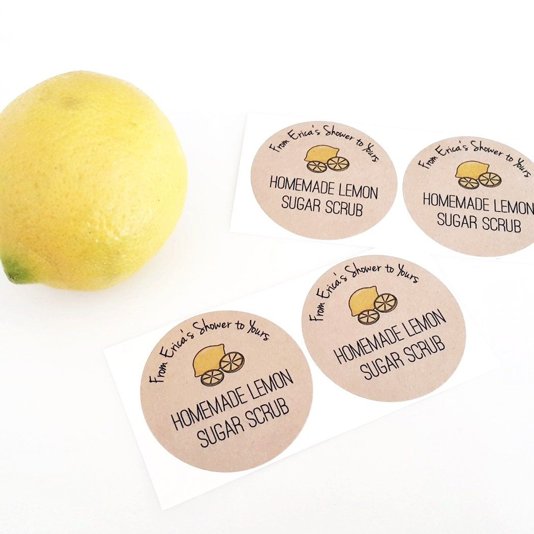 Lemon Party Decor Baby Shower Sticker Lemon Birthday Taste of Lemonade Favor Sticker Tag Bridal Shower Favor Tag Wedding Favor
