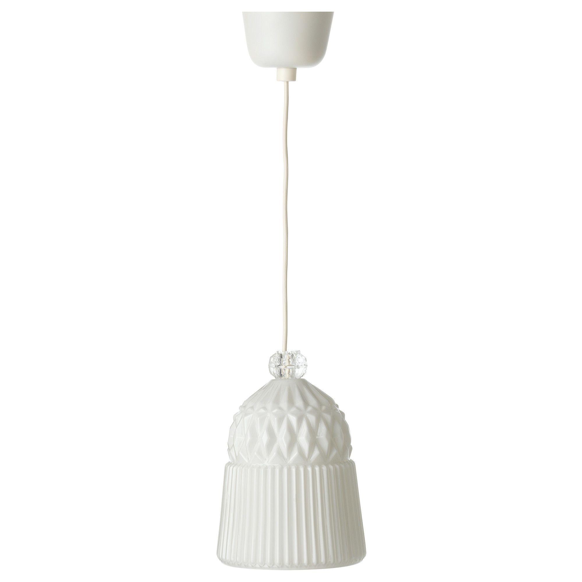Ikea pendant made of glass