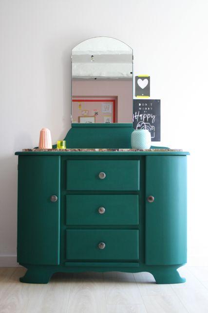Coiffeuse Art Deco Mobilier De Salon Relooking De Mobilier Meuble Vintage