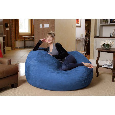 Need a new place to chill? How about a form-fitting memory foam chair that\'s big enough to share? Introducing the Chill Sack. FUN FOR EVERYONE: Add some fun to your basement hangout, dorm room, or bedroom with this super comfy bean bag chair! The 5 foot Chill Sack Lounger is ideal for kids, teenagers, college students, and stressed out adults. Use it while watching your favorite movies, tv shows, or while playing your favorite game. OVERSIZED LOUNGER: Chill Sack is the ideal bean bag sofa for s