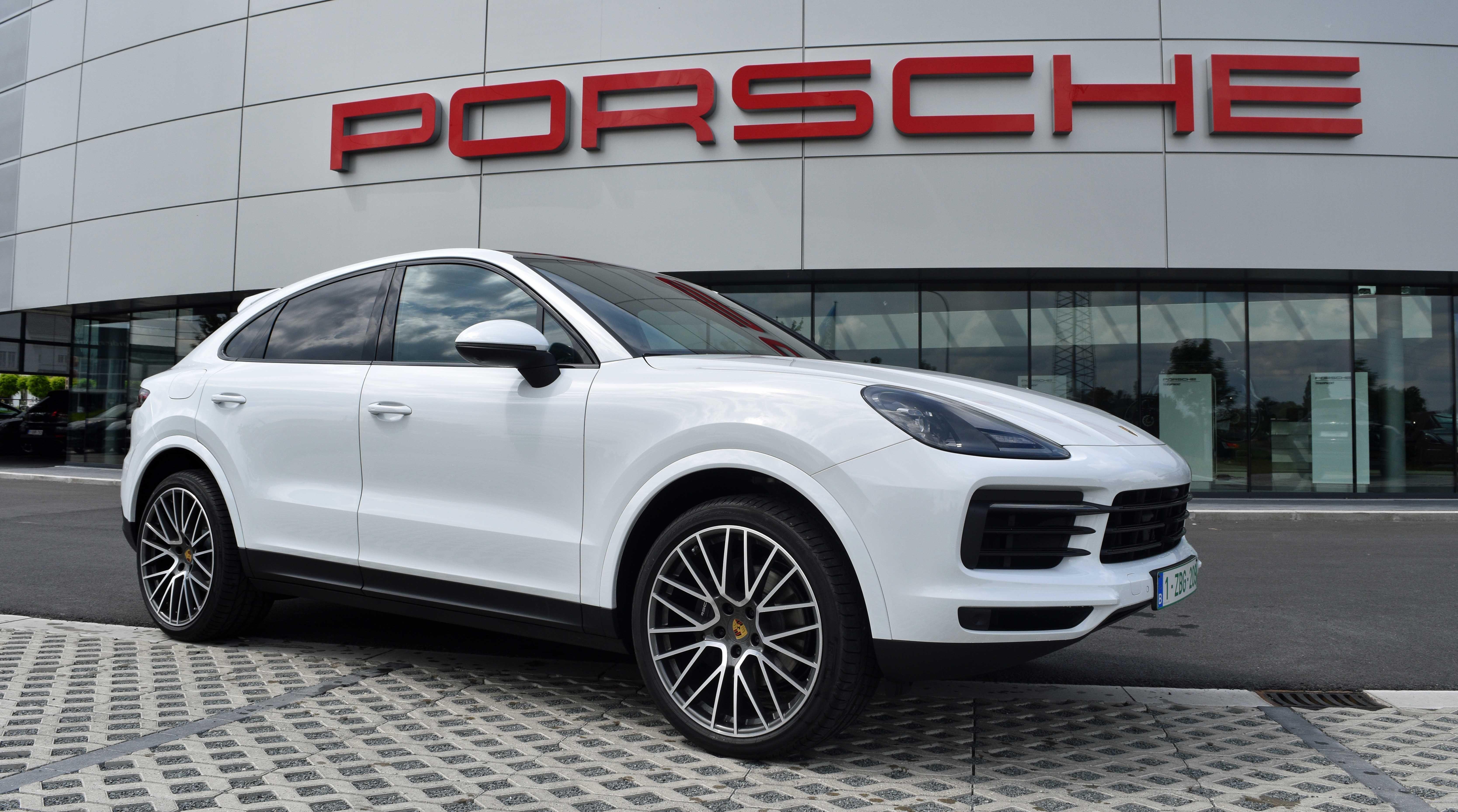 Porsche Cayenne Coupe Carrara White Cayenne Rs Spyder Design