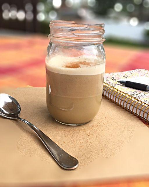 Roasted Dandelion Root Latte