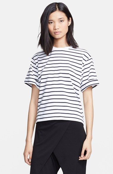never too many striped tee's