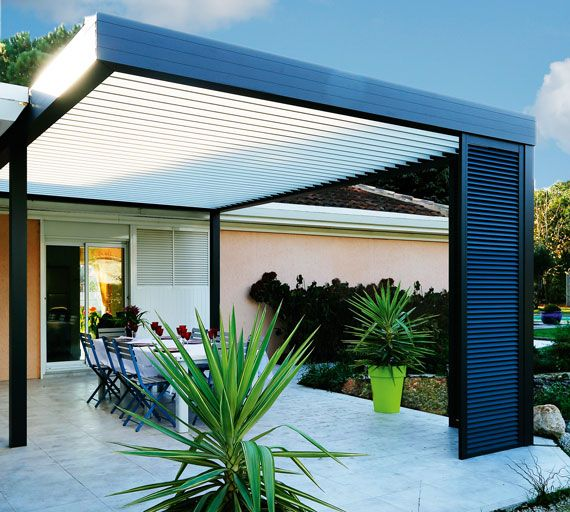 pergolas crc volets casas pinterest pergola garten und terrasse. Black Bedroom Furniture Sets. Home Design Ideas