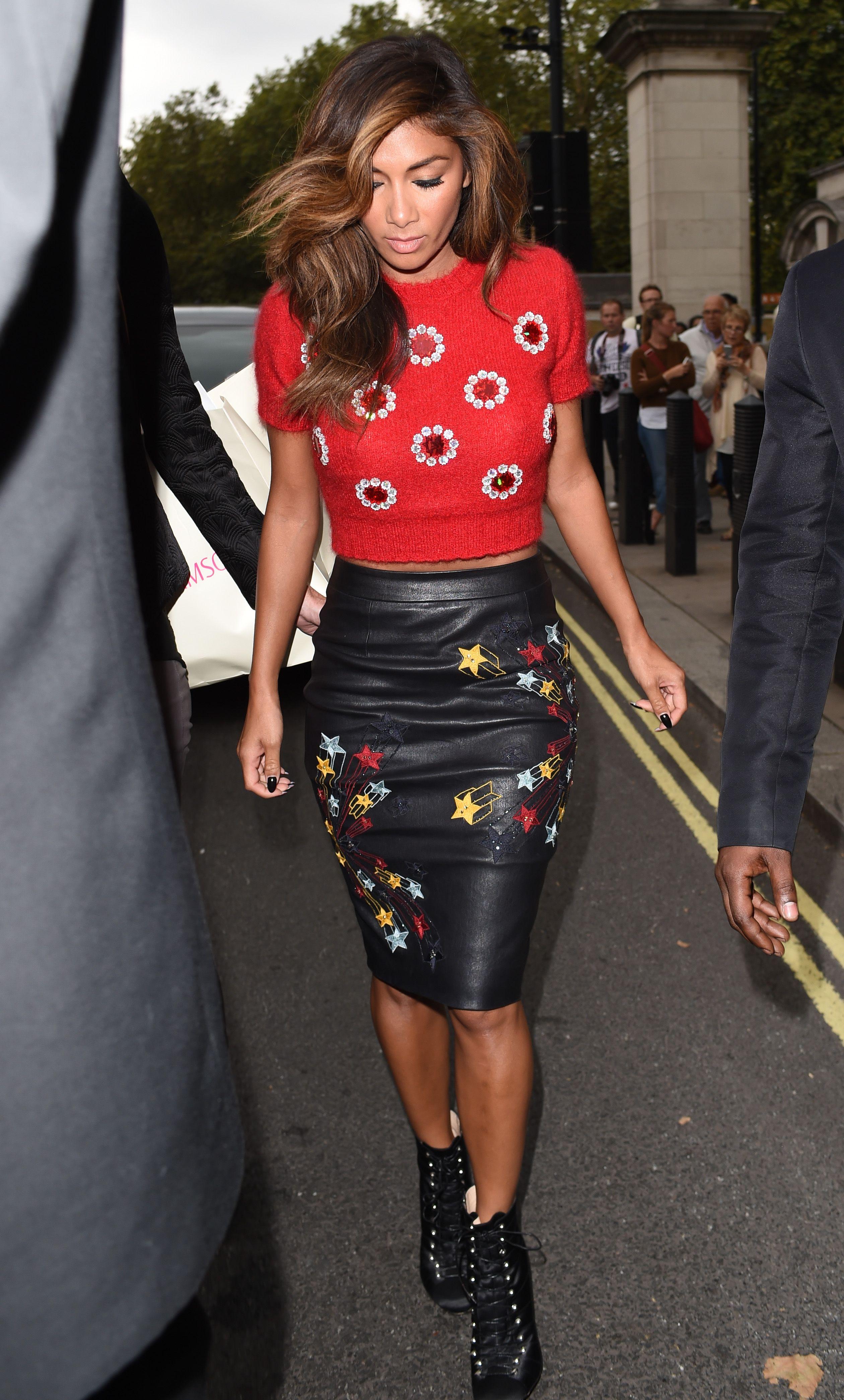 Nicole Scherzinger Matthew Williamson Show During London Fashion Week 140914