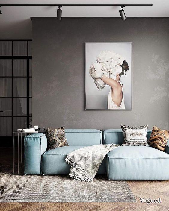 Déco : 38 images idée déco salon chic avec ambiance cosy (avec images)   Idee deco salon, Salon ...