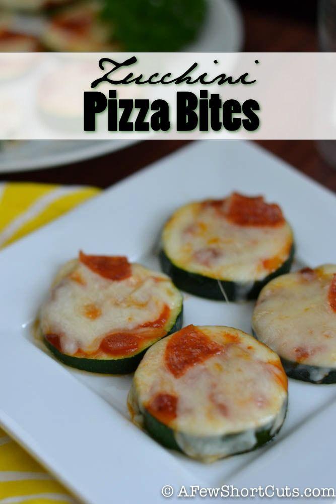 Easy Zucchini Pizza Bites Recipe
