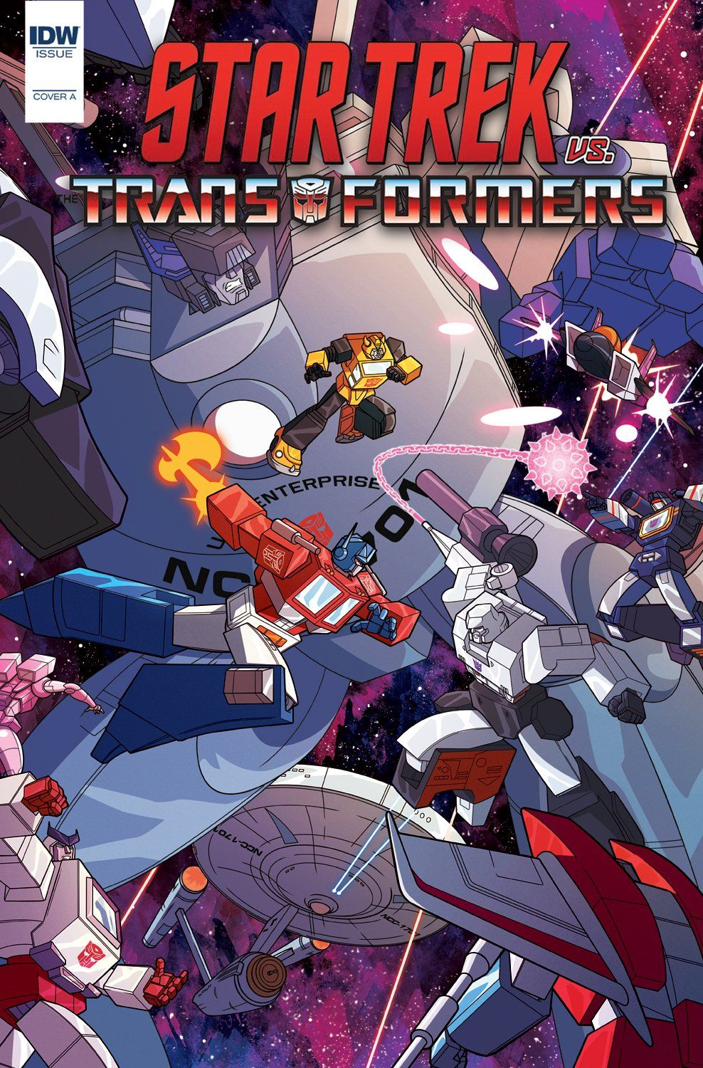 Cover For Star Trek Vs Transformers No 5 By Artist Phil Murphy Crashtesterx From Idwpublishing Star Trek Art Transformers Star Trek