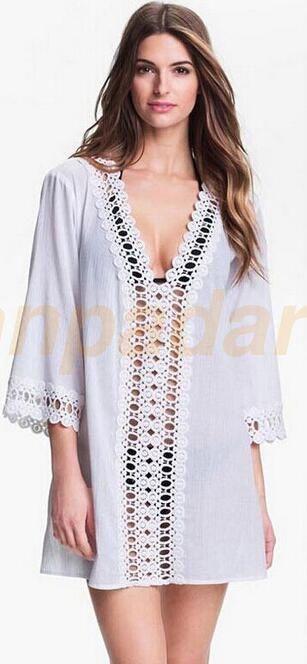 10b10bd619 $10.77 - Womens Beachwear Swimwear Bikini Beach Wear Cover Up Kaftan Ladies  Summer Dress #ebay #Fashion