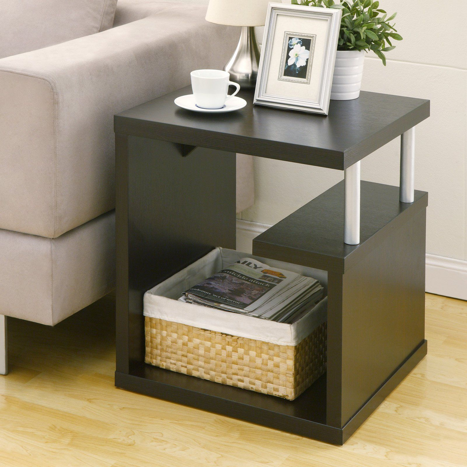 Furniture Of America Braydie Modern End Table With Images