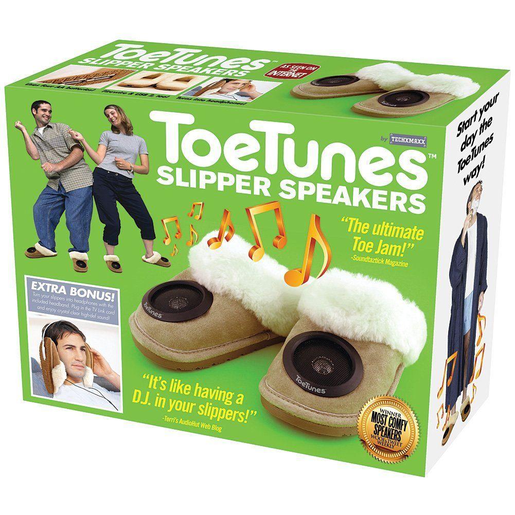 Prank Box Toe Tunes Christmas Fake Out Gift