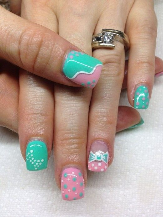 Click Pic for 16 Easy Easter Nail Designs for Short Nails | DIY Nail ...