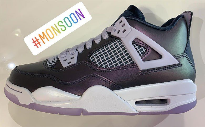 421e6db24d8d Air Jordan 4 Monsoon Blue Releases On April 6th For Girls