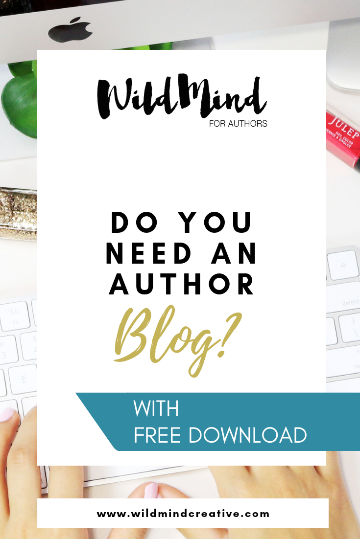 006 Do Authors Need to Blog? Social Media for Authors