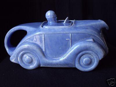 Sadler Racing Car Teapot