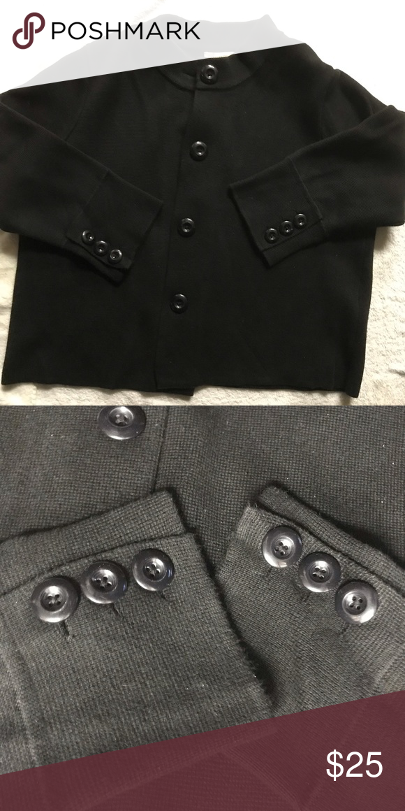 b0202e5aad05 Charter Club Jacket/Sweater Black XL jacket/sweater Excellent condition  Cuff includes special 3 button detail for extra style 60% cotton/40% rayon  Charter ...