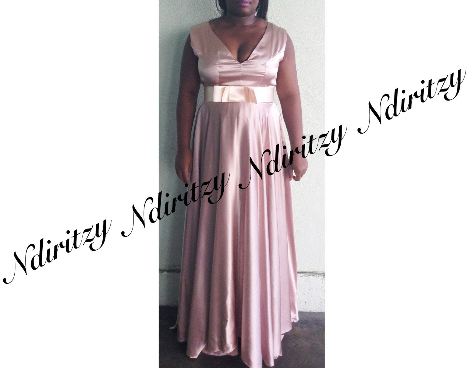 Dress plus size dress v neck dress blush silk charmeuse dress shop for on etsy the place to express your creativity through the buying and selling of handmade and vintage goods ombrellifo Gallery