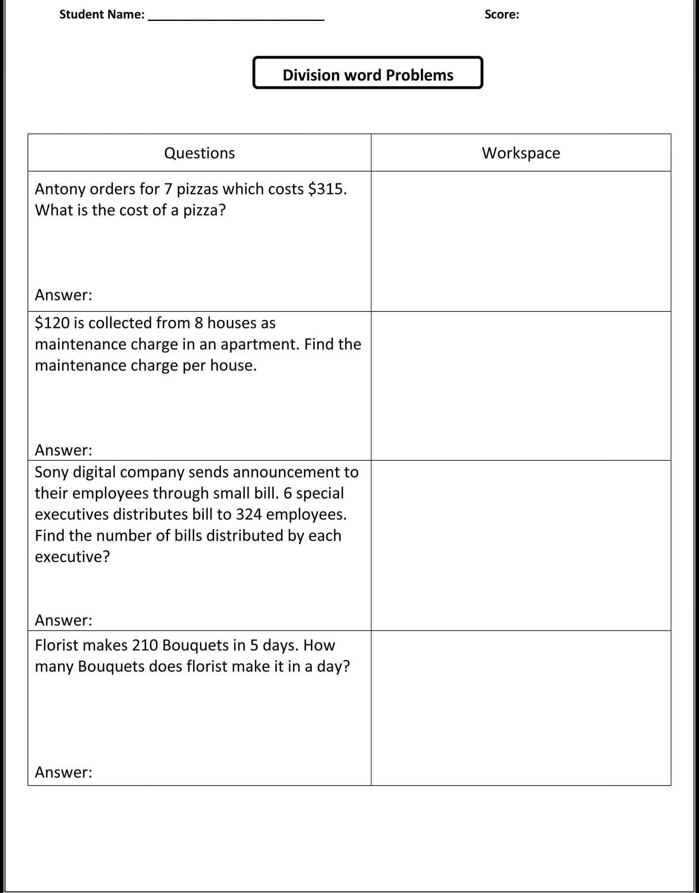 15 Dividing Fractions Word Problems Worksheet 5th Grade In 2020 Word Problem Worksheets Math Word Problems Free Math Worksheets
